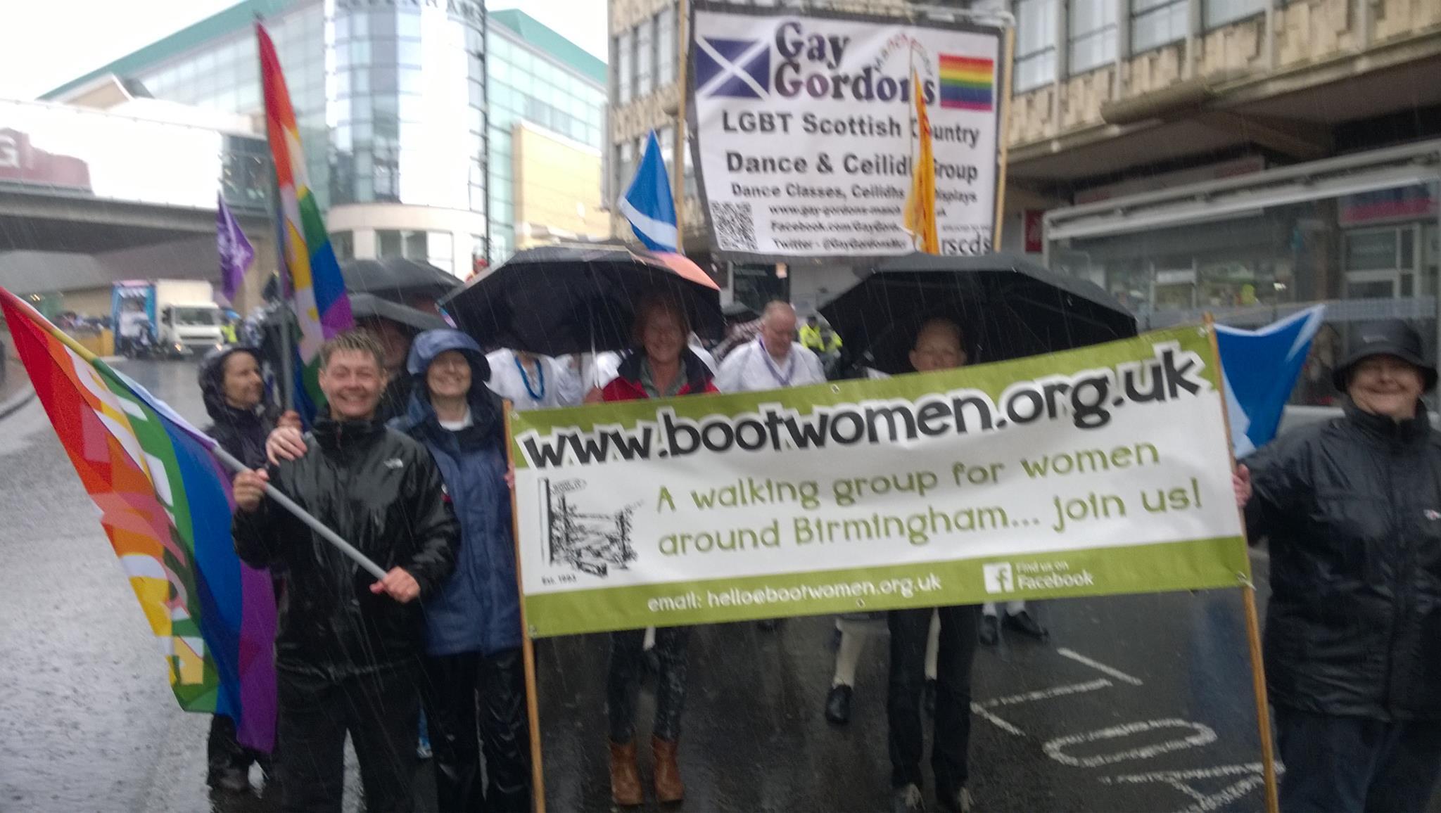 Boot Women Birmingham Pride 2014