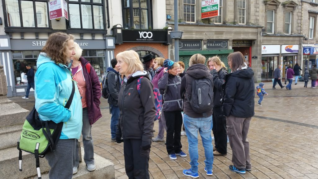 Wolverhampton urban walk, 13 Nov 2016